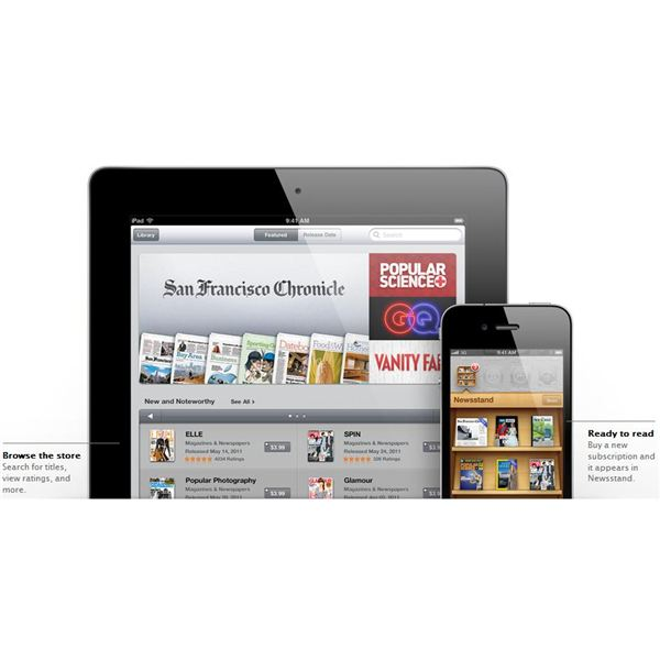 iPhone 5 newsstand