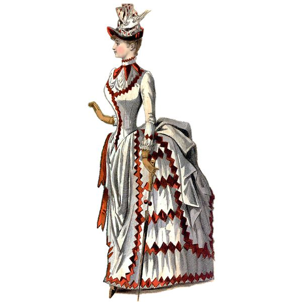 Womens fashion in the 1800s 65
