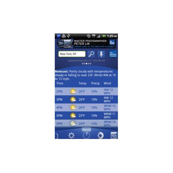 weather channel review  an advanced weather application