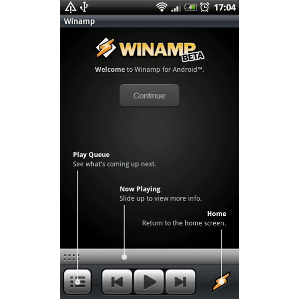 Winamp for Android Tutorial