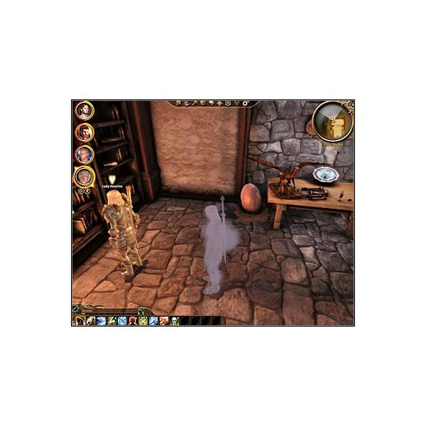 Dragon Age: Origins - Crime Wave Thievery Quest #2 - Ser Nancine (Screenshot from Game Pressure - https://guides.gamepressure.com/dragonageorigins)