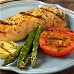 Grilled Salmon & Grilled Vegetables