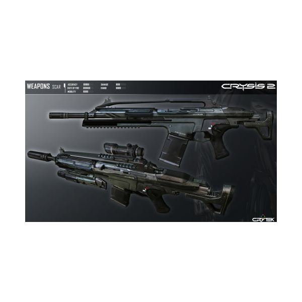 Crysis 2 Weapons Guide - The Best and Worst Guns in Crysis 2