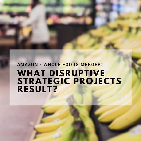 Disruptive Strategic Projects That May Result from Amazon Buying Whole Foods
