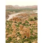 450px-Countryside and Rock Formations around Hampi - India