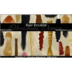 Hair Photoshop Brushes by redheadstock