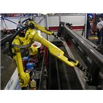 Robots used in welding from Wikipedia by Phasmatisnox