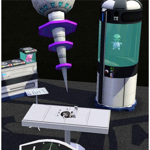 Guide to The Sims 3 Aliens and UFOs