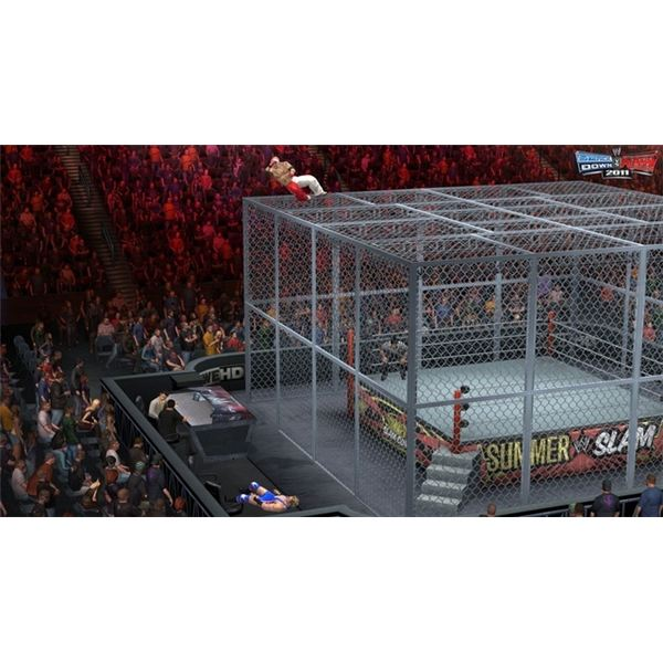 Hell in a Cell will feature a larger cage and new match-specific moves.
