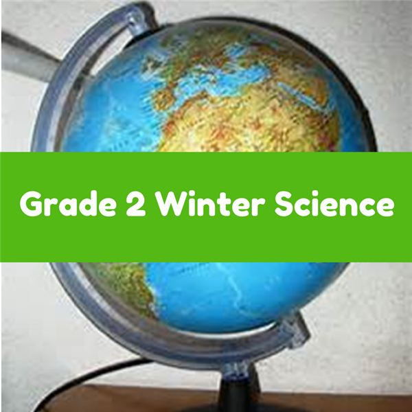 Grade 2 Winter Science Lesson Plan and Activities