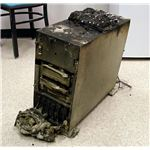 Destroyed Server Due to Fire