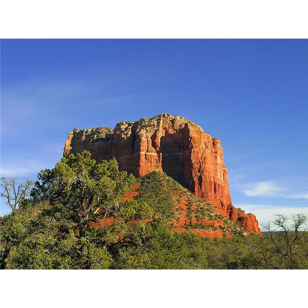 Butte in Sedona, Arizona