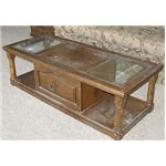 Be creative: With a little love and elbow grease, that old coffee table can have a new life.