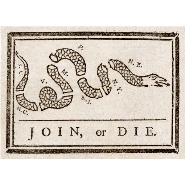 Benjamin Franklin - Join or Die