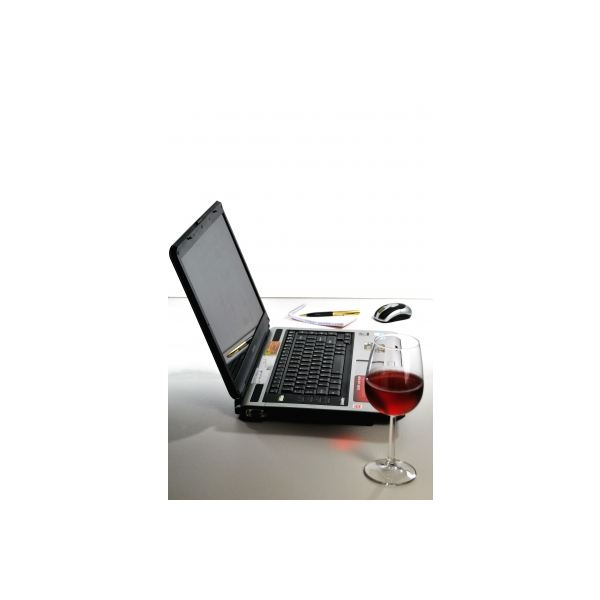 Home-office with wine