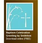 HP Baptism Invitation