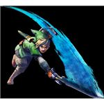 With Wii MotionPlus, Link will accurately mimic players' motions.