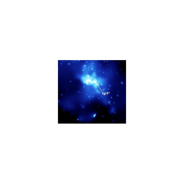 Image of Sagittarius A taken by the Chandra X-ray Observatory