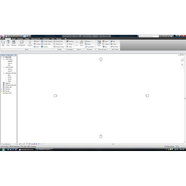 Revit 8 screen shot