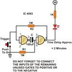 Timer Circuit Using NAND Gate, Image
