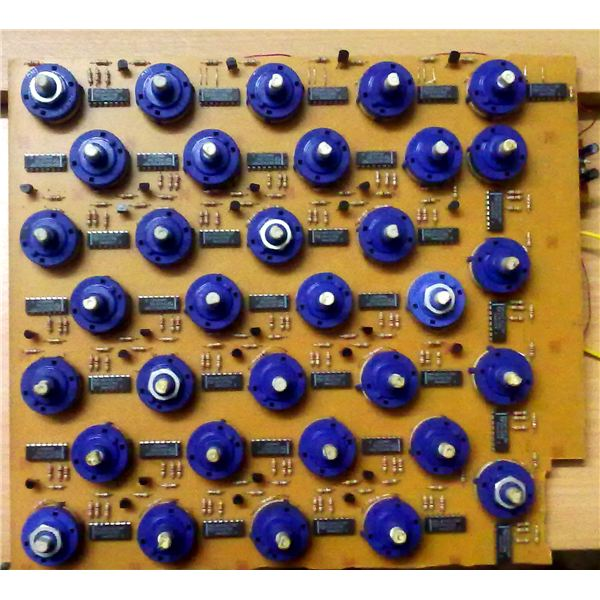 The Built Prototype of the School Bell Timer Circuit Board, Image