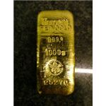 Owning gold bars is nice but not very liquid.