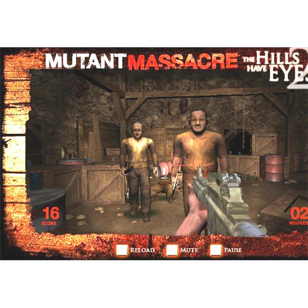 Mutant Massacre - One of the Free Best Online Scary Games