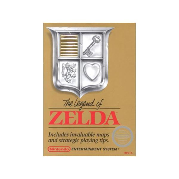 The Legend of Zelda - Original NES Box Art