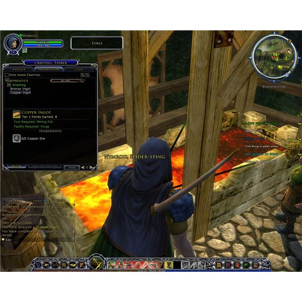 Crafting in LOTRO is the best way to get useful items.