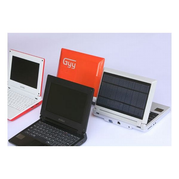 iunika solar powered laptop
