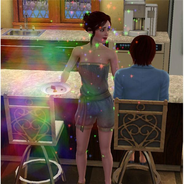 The Sims 3 Ambrosia Effects