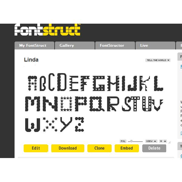 Font - Linda - Get Ready World!