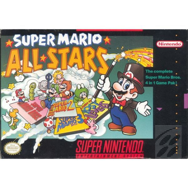 Super Mario All-Stars on the SNES was awesome, but did it come with a soundtrack CD and a 32-page booklet?