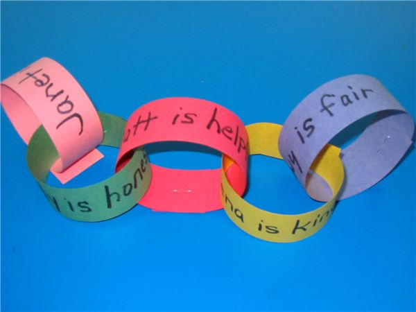 Make a Character Chain