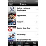 Anime Network iPhone App