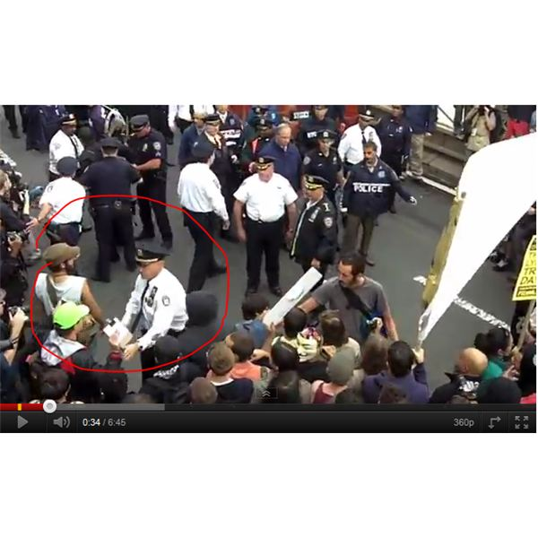 Man with camera arrested - YouTube video