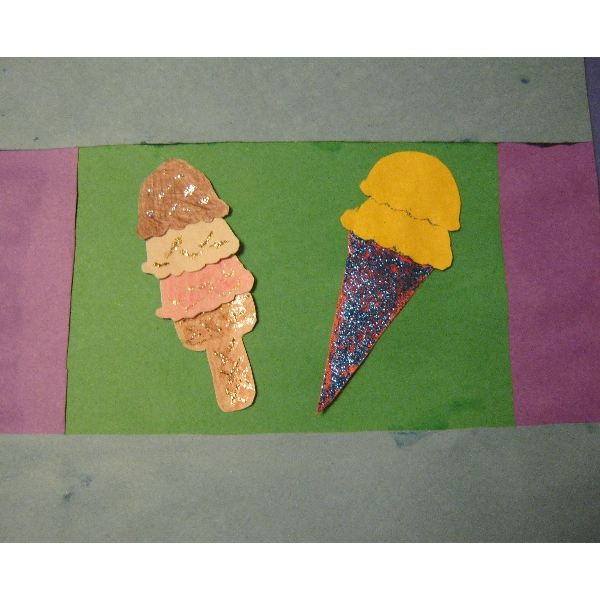 Crafts And Activities Have An Ice Cream Day In Kindergarten