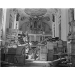 Looted Art - German loot stored at Schlosskirche Ellingen - Ellingen (Bavaria - Germany)
