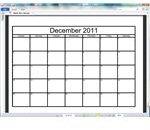 Blank 2011 calendar in PDF format