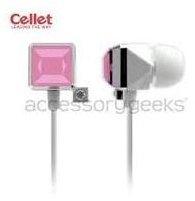 Cellet Universal Diamond Ear Drop Jewel Earphones