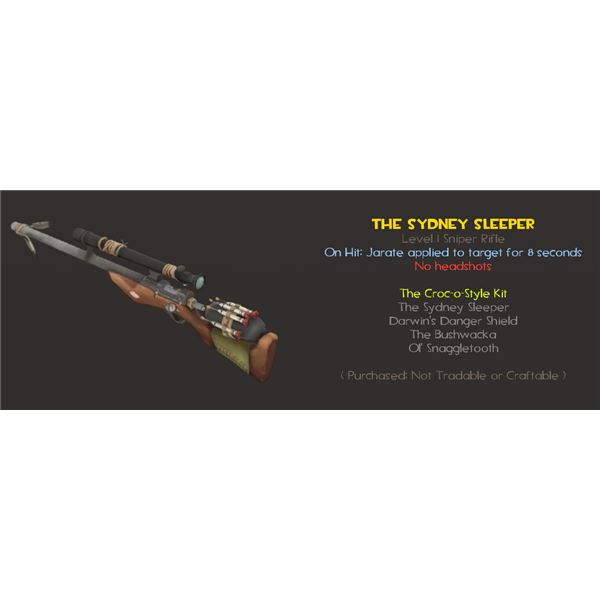 A deadly rifle for the Sniper.