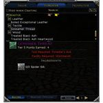 Forester Master Tier LOTRO Crafting