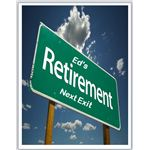 Road to Retirement Invitation