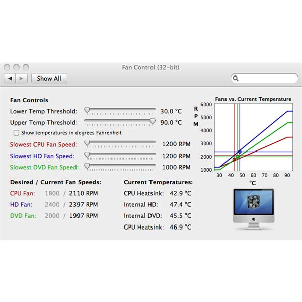 iMac Fan Control: Adjust Your iMac Fan Speeds