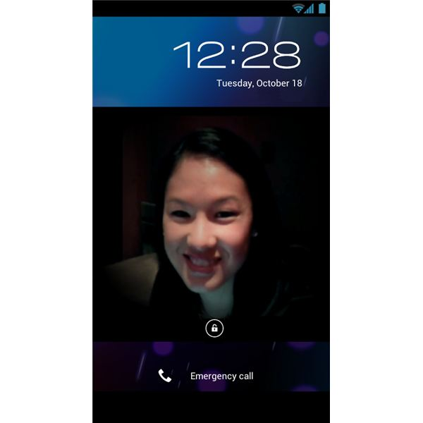 Android 4.0 Face Unlock
