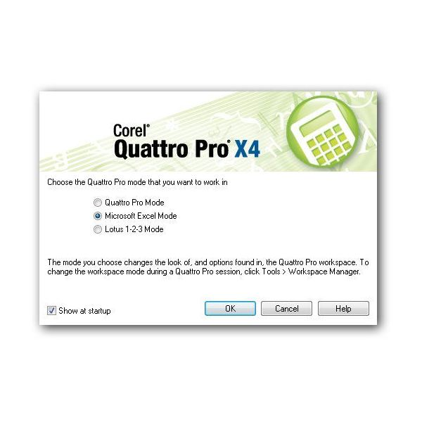 Customize the Quattro Pro Workspace
