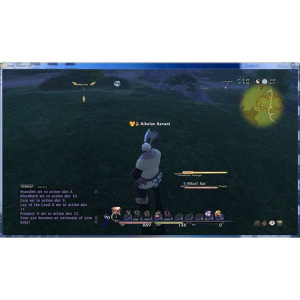 Final Fantasy XIV Battle System: Real (Wo)Men Don't Use Auto Attack