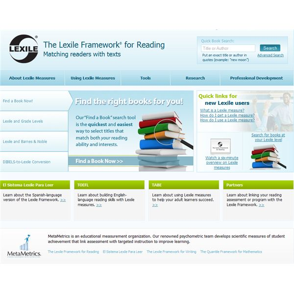 The Lexile Framework for Reading