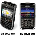 blackberry bold 9650 and Tour 9630