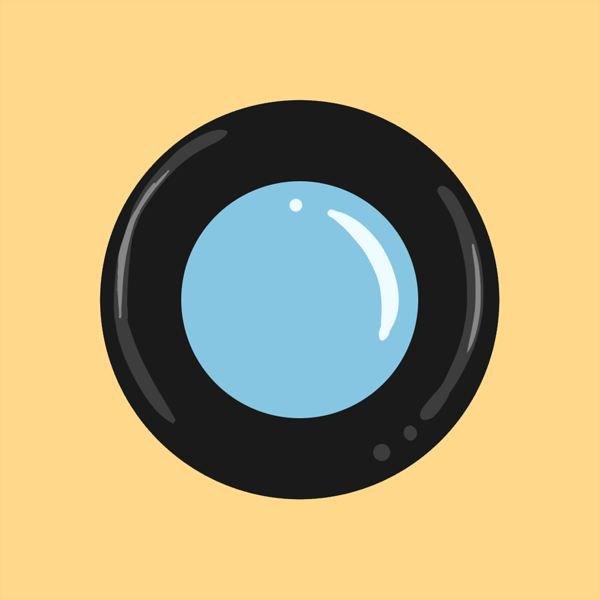 Shiny lens logo.